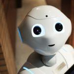 ihmishahmoa muistuttava robotti kasvokuvassa
