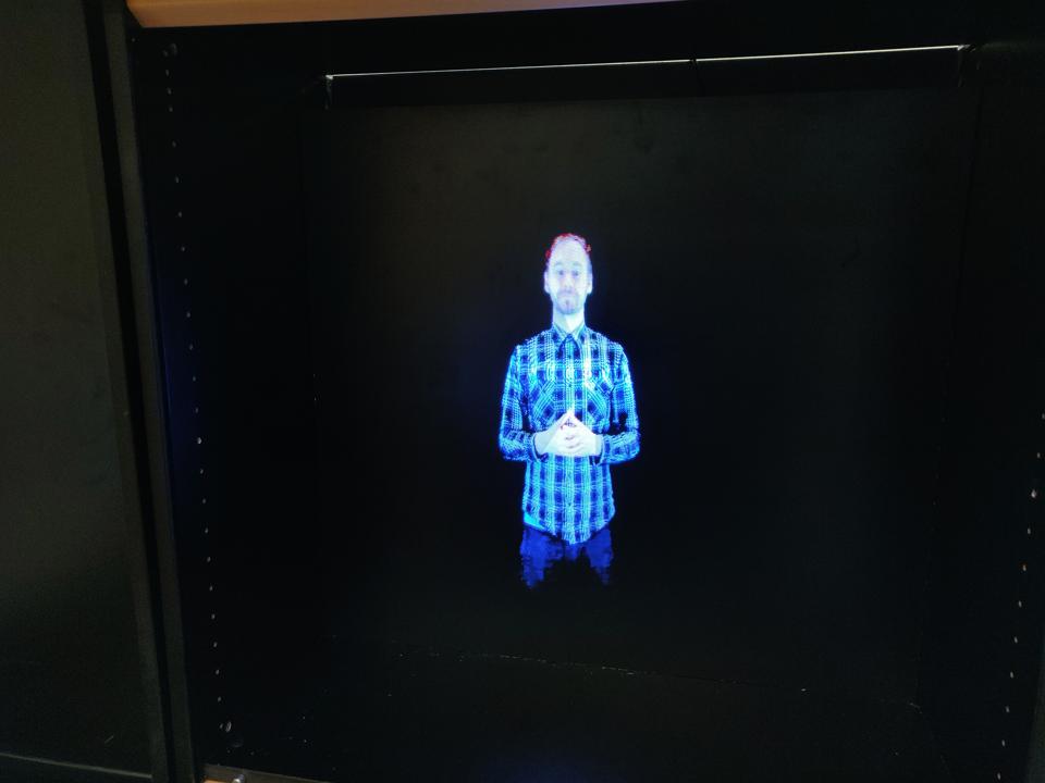 Holographic fan case study - HAMK UnlimitedHAMK Unlimited