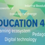 word cloud education 4.0