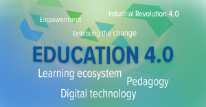 word cloud education 4.0